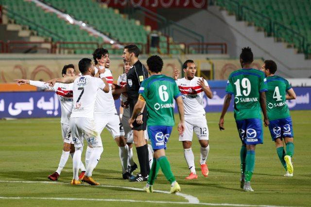 مشاهدة مباراة الزمالك ومصر المقاصة بث مباشر اليوم 15-08-2020 بالدوري المصري