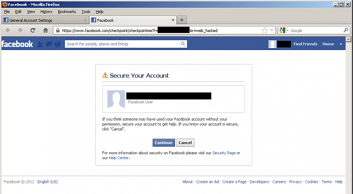 Hacking Facebook Passwords Like Changing Your Own Password