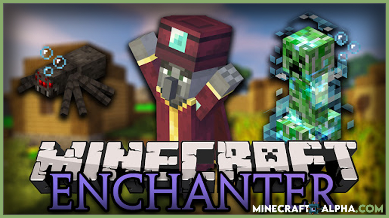 Minecraft Enchant With Mobs Mod
