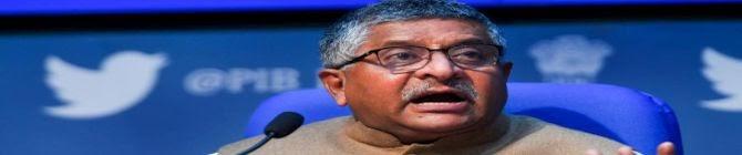 Twitter Blocks Law Minister Ravi Shankar Prasad's Official Account For 1 Hour
