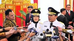 Jokowi Lantik Arinal dan Chusnunia Sebagai Gubernur dan Wakil Gubernur Lampung