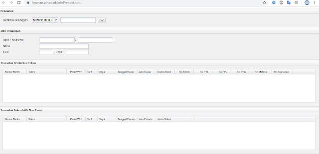Layanan Info Prepaid PLN