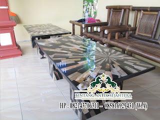 Meja Marmer Ruang Tamu