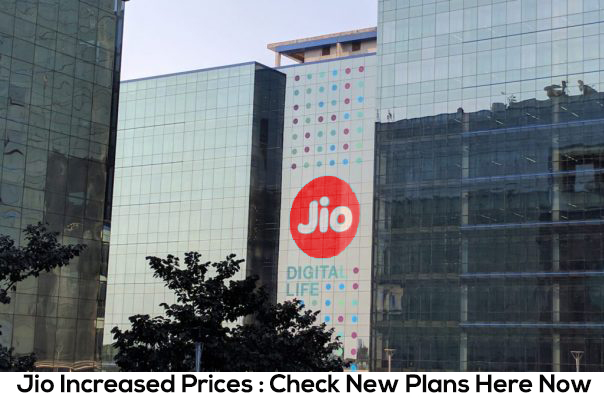 Jio Increased Prices : Check New Plans Here Now
