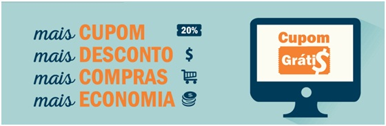 Cupom de Desconto de Até 50% Em Compras Online