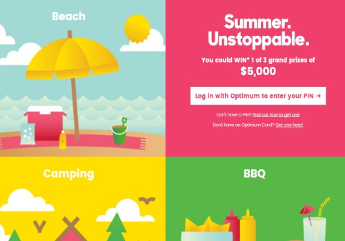 Shoppers Drug Mart Summer Unstoppable Contest