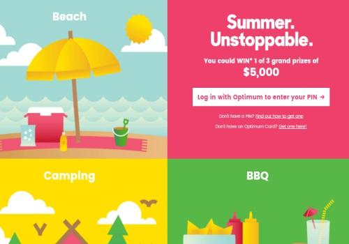 Shoppers Drug Mart Summer Unstoppable Contest