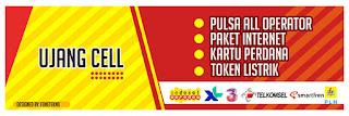 Banner Konter Pulsa dan Kuota
