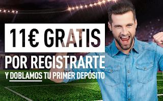 sportium Bono Bienvenida: 11 euros GRATIS + Dobla tu 1er depósito 200 euros