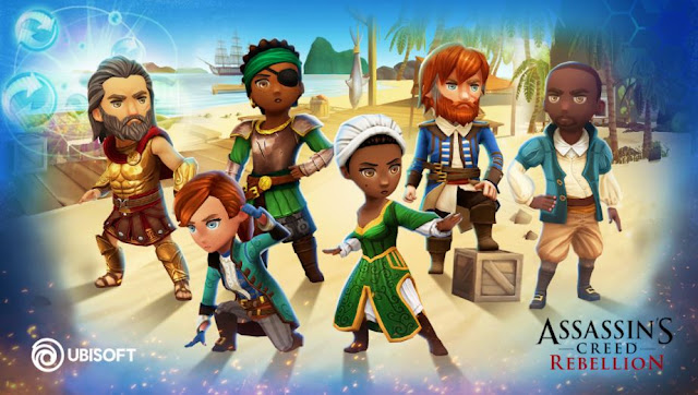 Assassin's Creed Rebellion MOD APK OBB Download Android IOS