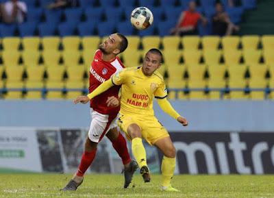 Video Quảng Ninh 2-2 Nam Định: 9 phút 4 bàn, tội đồ chấm luân lưu