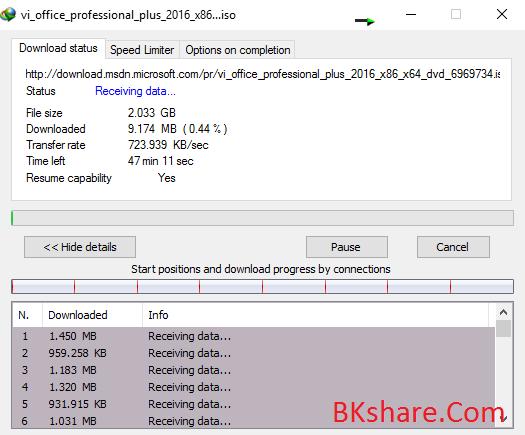 Cách tải file trực tiếp từ MSDN miễn phí