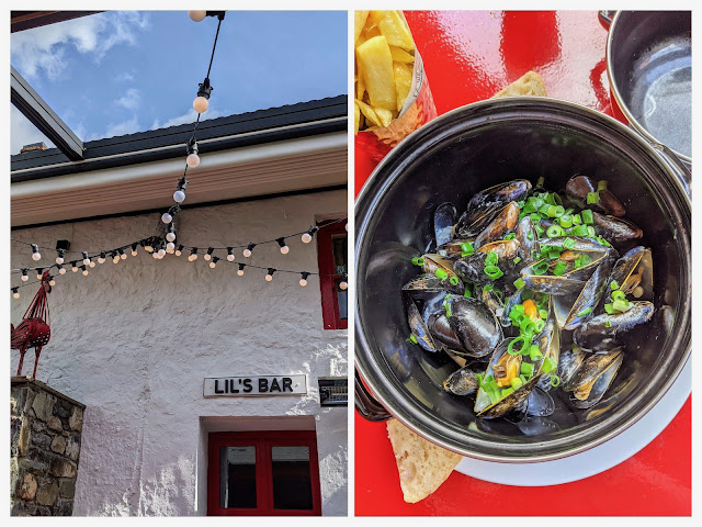 McKevitt's Village Hotel mussels in Carlingford Town Ireland