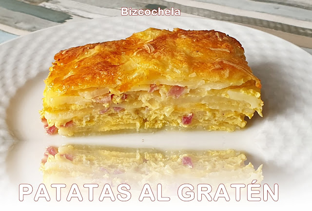PATATAS AL GRATÉN