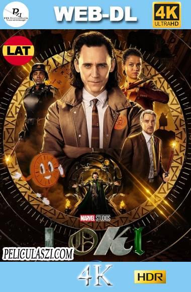 Loki (2021) Full HD Temporada 1 WEB-DL 4K HDR Dual-Latino