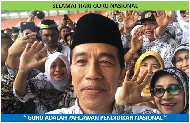 Poster Selamat Hari Guru Nasional