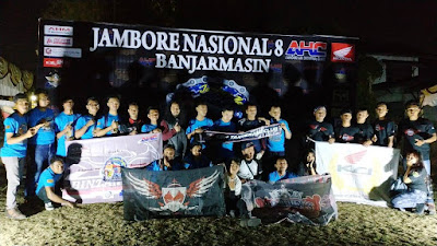 CBR Bintan Club Turut Meramaikan Jambore Nasional CBR di Banjarmasin
