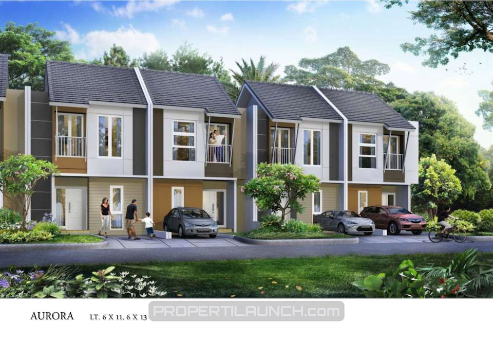 Aorora Type Cluster Avani Homes Summarecon Karawang