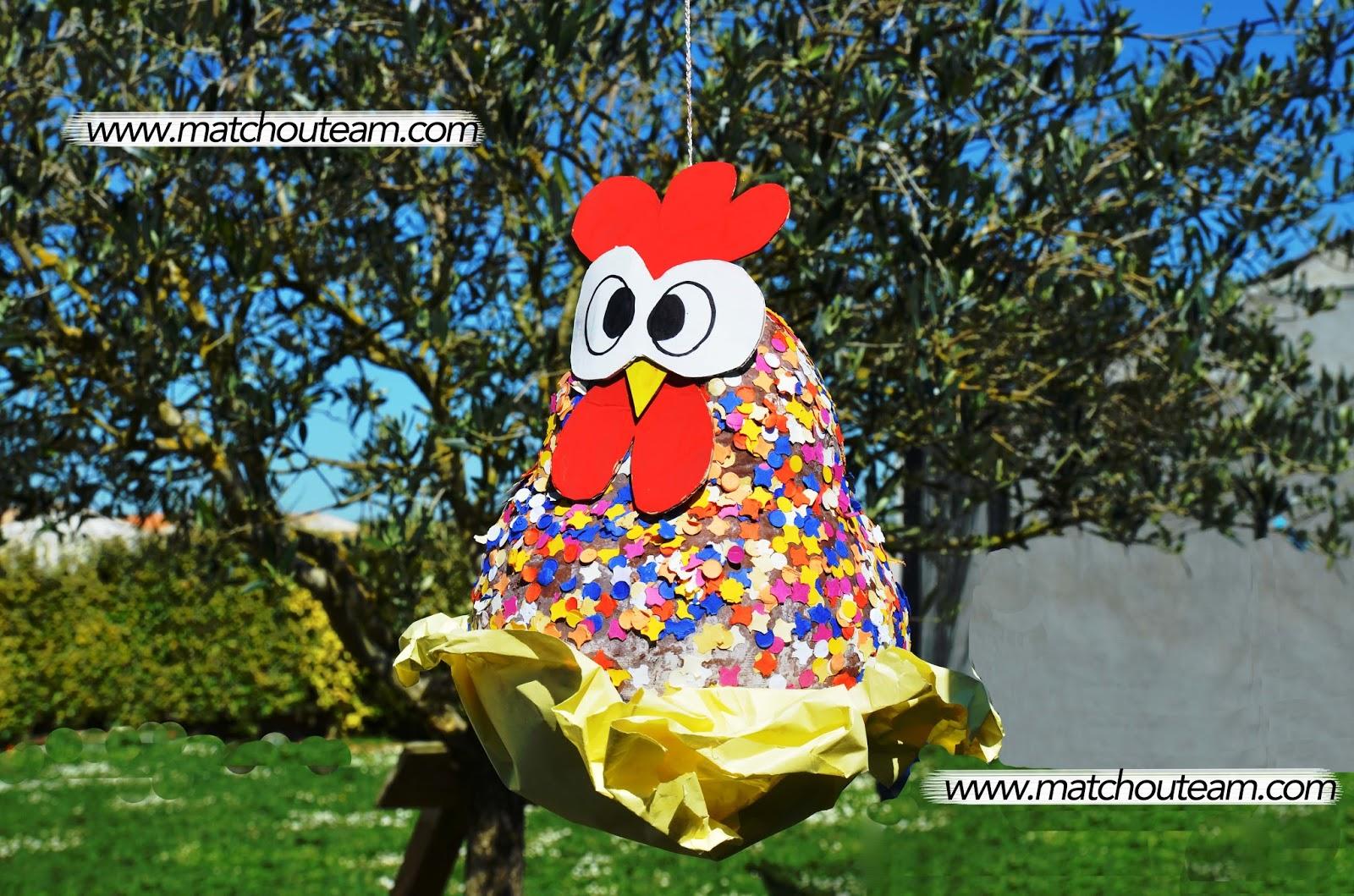 pinata pour Pâques