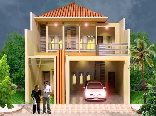 model rumah tingkat minimalis terbaru