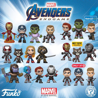 Avengers: Endgame Mystery Minis Blind Box Series by Funko x Marvel