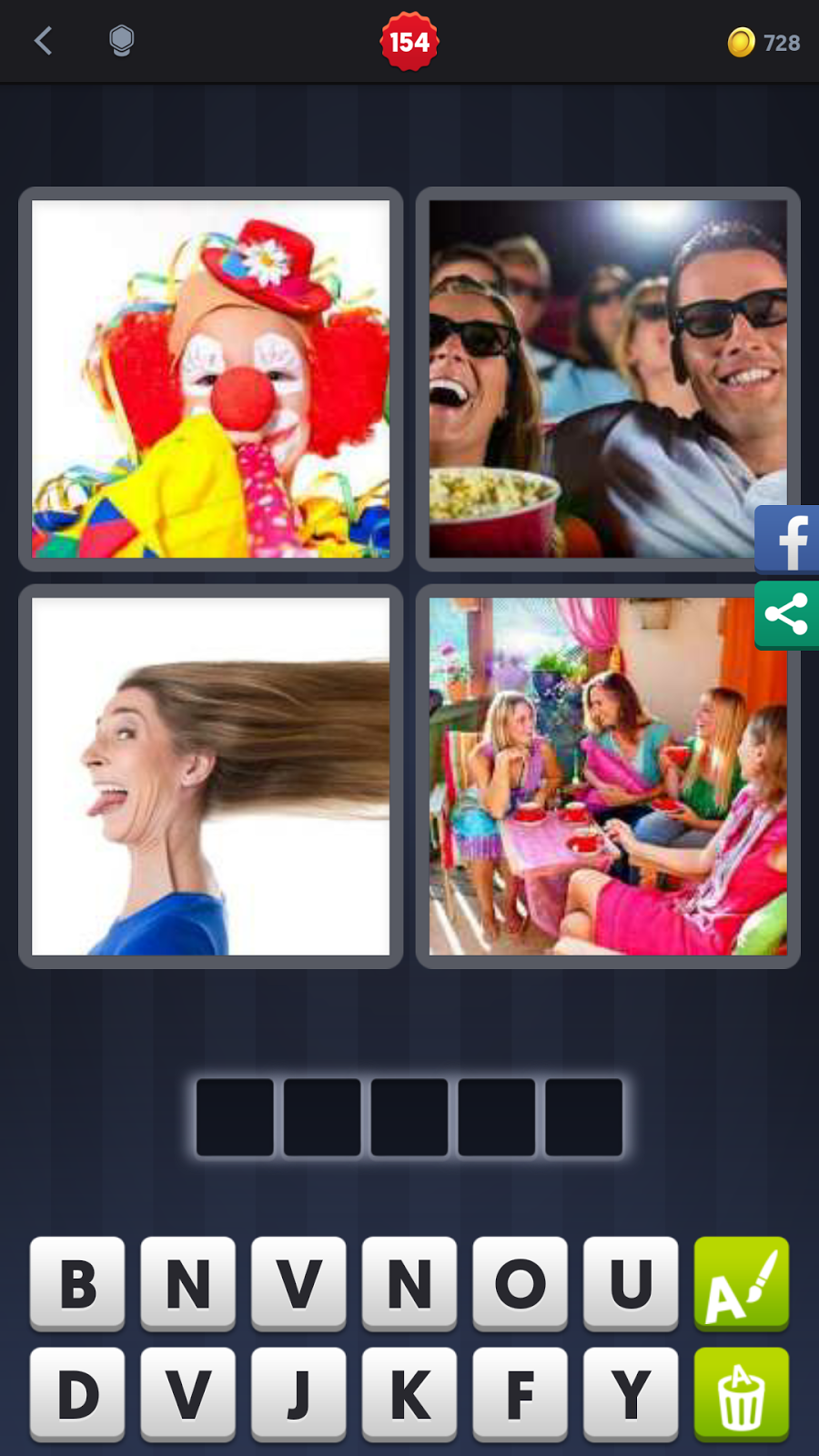 Four pictures one word 7 letters faces choice image reference 4 pics 1 word 7 letters faces image collections letter format expocarfo Choice Image