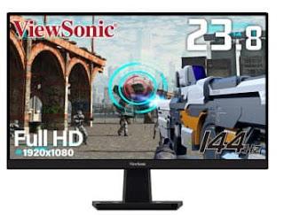 شاشة الألعاب من ViewSonic مقاس 24 بوصة بدعم AMD FreeSync Premium