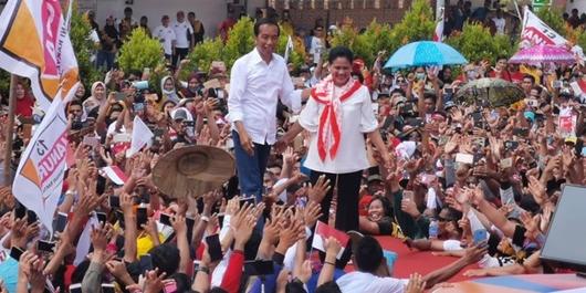 Jokowi Targetkan Menang 65 Persen di Kalsel
