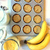 Szybkie bananowe FIT BABECZKI MOCY z orzechami
