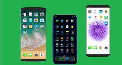 15 + Tema IOS/ iPhone Untuk Oppo Dan Realme ClorOs 5,6 dan 7 Tembus Aplikasi