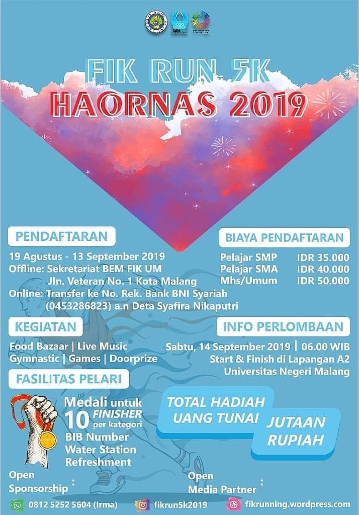 FIK Run 5K Haornas • 2019