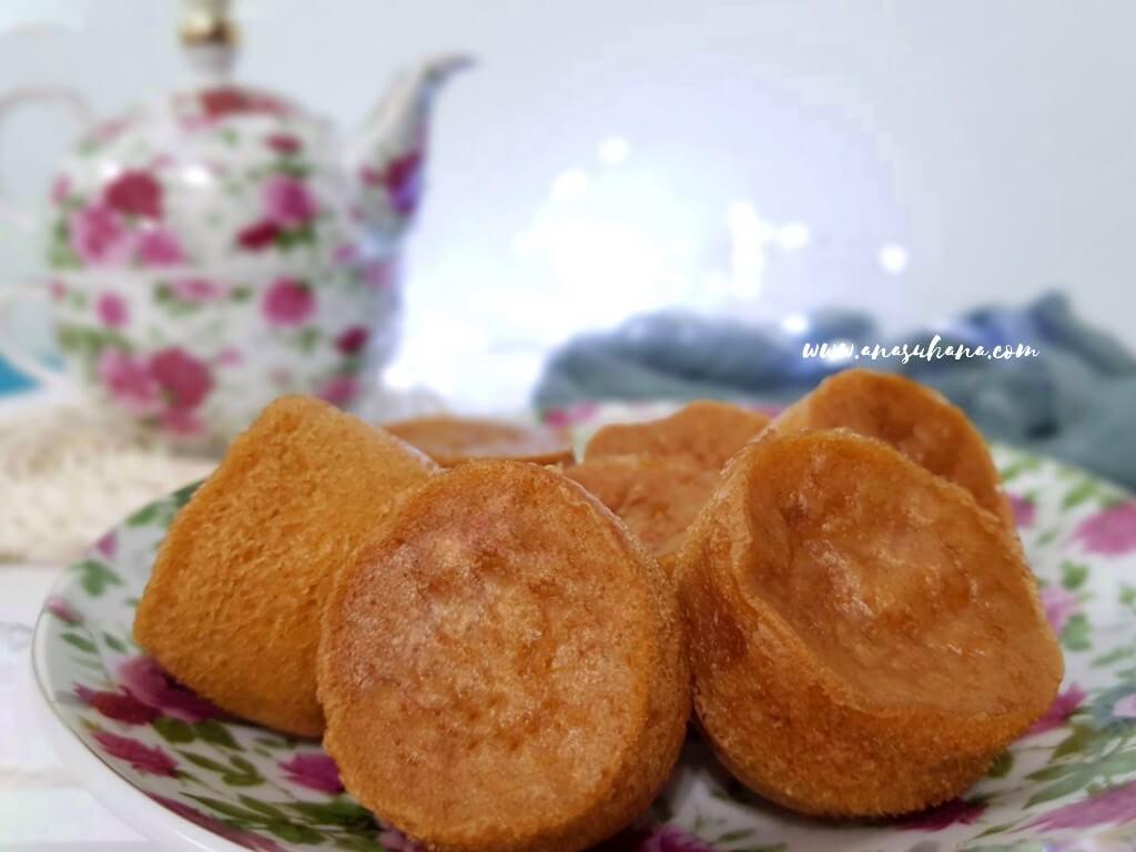 Resipi Apam Gula Hangus Yang Gebu dan Lembut