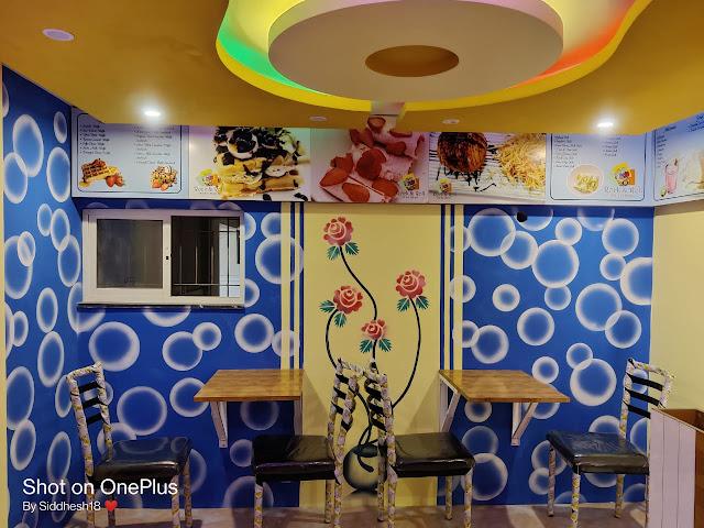 Interior design of a shop in Goa done by NaikConstruction.com