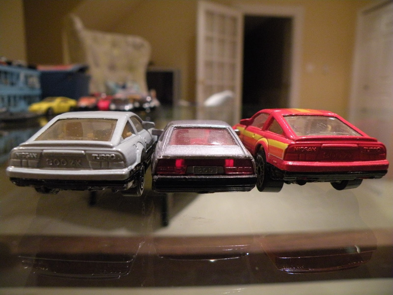 Matchbox Frenzy: Nissan Z Cars throughout the years