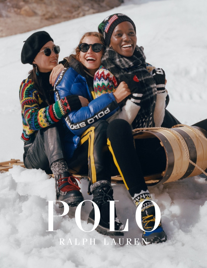 Polo Ralph Lauren focuses on après-ski style for Holiday 2019 campaign