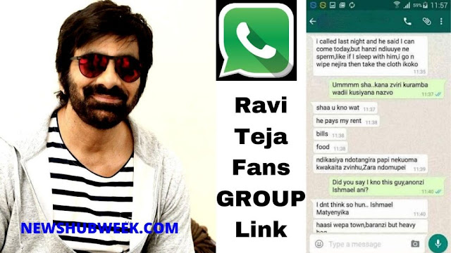 Join 15+ Ravi Teja Fans Whatsapp Group Links New Update