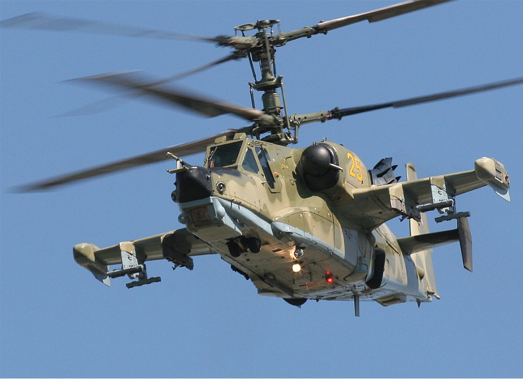 Ka-50 HOKUM Single Seat Attack Helicopter |Military Attack ...