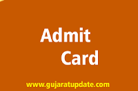 Download GUJCET 2021 Hall Ticket (Admit Card)