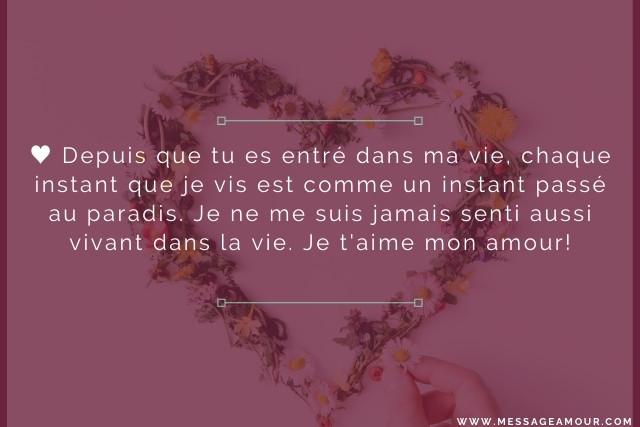 message-je-taime-mon-amour