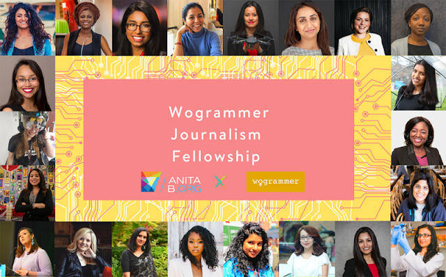 AnitaBorg Wogrammer Journalism Fellowship 2020 $1500 Stipend