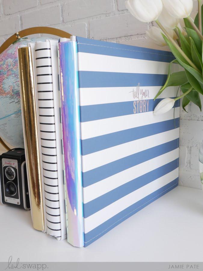 For the Love of Beautiful Scrapbook Albums     Heidi Swapp Storyline Albums @jamiepate for @heidiswapp
