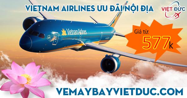 Khuyến mãi Vietnam Airlines mới nhất ngày 06/12/2017