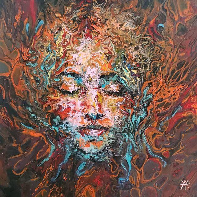 06-Acrylic-Portrait-Liz-Y-Ahmet-www-designstack-co