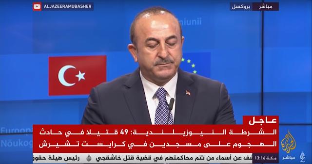 وزير الخارجية التركي: خطاب العداء ضد الإسلام والمسلمين منتشر في أوروبا