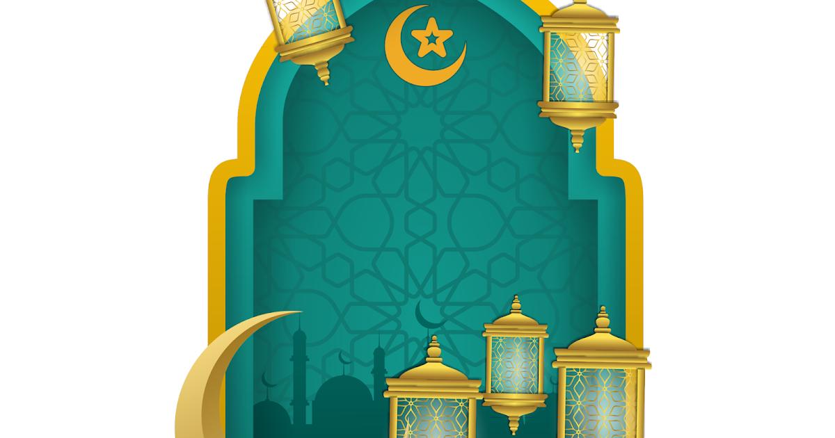 Background lampu islami masjid Mosque vector Nova Grafis