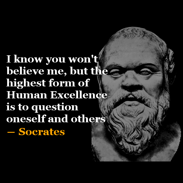 Socrates | Quote of the Day #3 | Few Seconds Inspiration