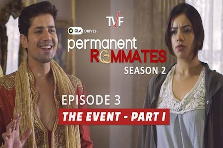 TVF Permanent Roommates S02E03 The Event Part 1