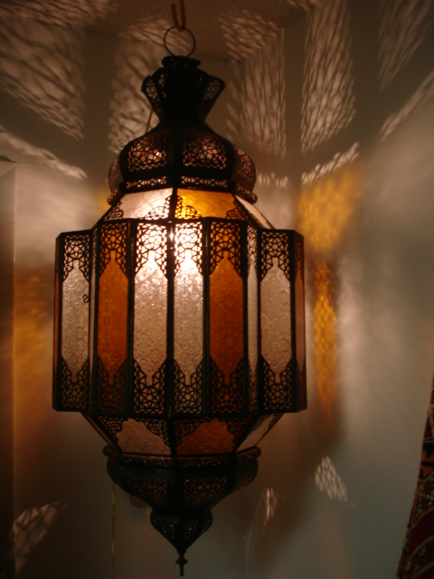 moroccan decor: moroccan lanterns and lamps part 14