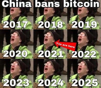 china bitcoin prohibición meme