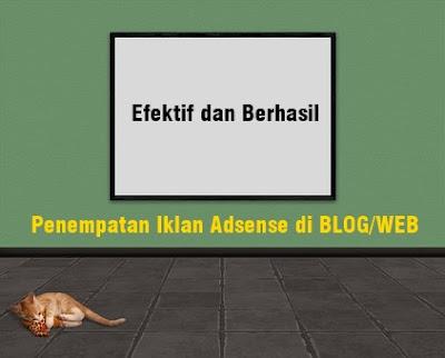 Penempatan Iklan Adsense di BLOG/WEB